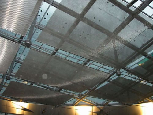 Stainless Steel Architectural Mesh Ceiling