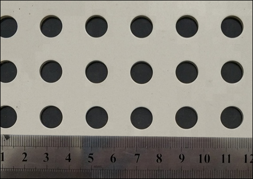 SS perforated round hole mesh