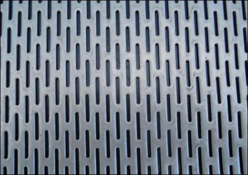 Slotted sheet metal in ss321