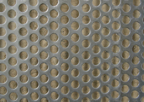 Stainless Steel Perforated Metal, Round Hole