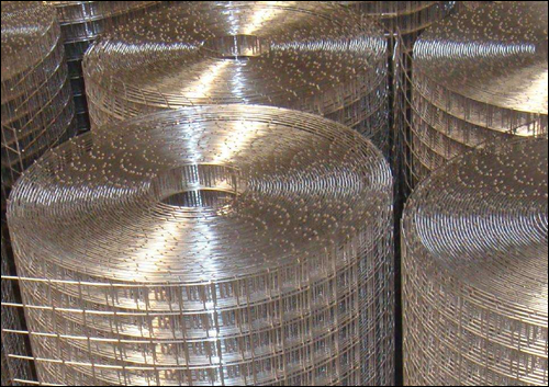 SS316L Grade Square Opening Stainless Steel Welded Mesh